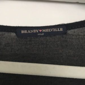 Brandy Melville Tops - Brandy Melville Long Sleeve Crop